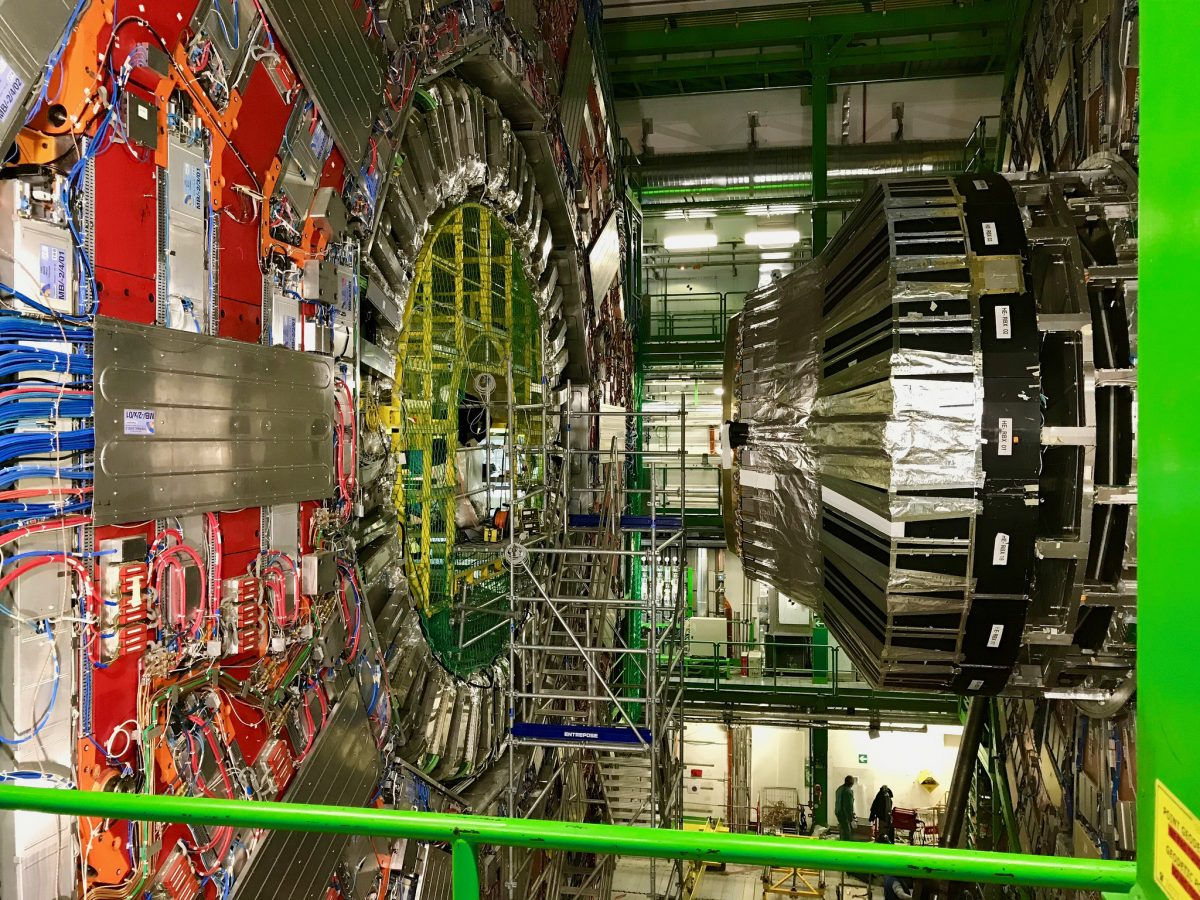 Besök på CERN och ETH